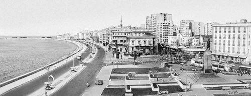 Александрия (ОАР). Набережная.