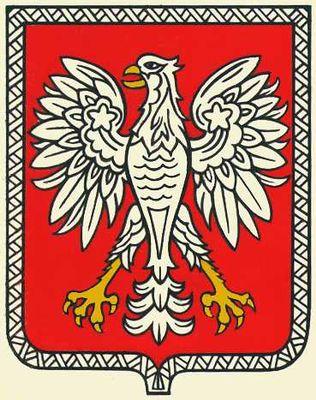 Государственный герб Польши.