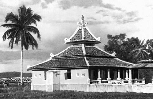 Мечеть в селе близ г. Малакка.