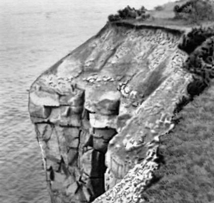 «Мустяла Панк» — северное побережье острова Сааремаа.