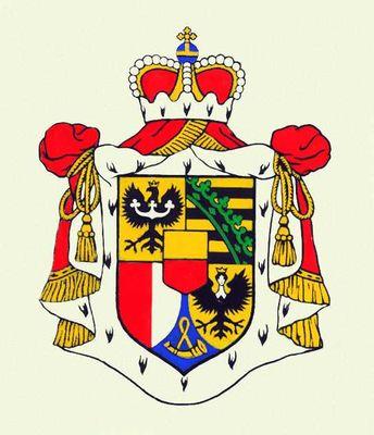 Государственный герб Лихтенштейна.