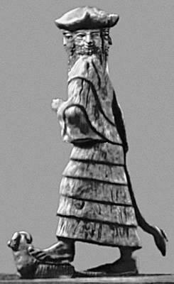 Четырёхликое божество из Ишхали. 3-е тыс. до н. э. Восточный институт Чикагского университета.