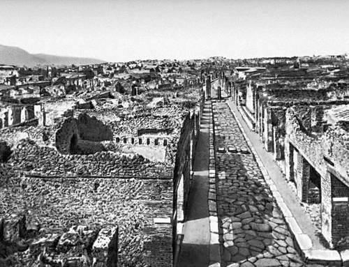 Помпеи. Улица Стабий. 1 в. н. э.