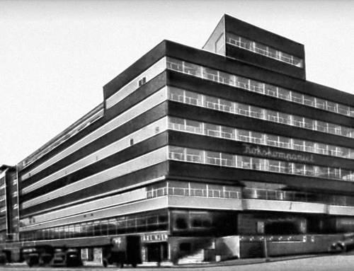 Осло. Общественный центр «Одд Феллоу». 1931. Архитекторы Г. Блакстадт и Х. Мунте-Кос.