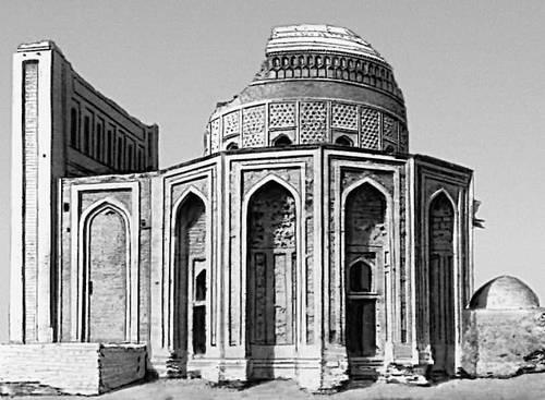 Мавзолей династии Суфи («Тюрабек-ханым»). 60-е гг. 14 в. Куня-Ургенч.