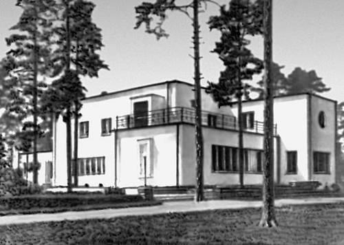 Эстонская ССР. Архитектура 13 — начала 20 вв. Э. Куузик. Жилой дом в Нымме. 1935.