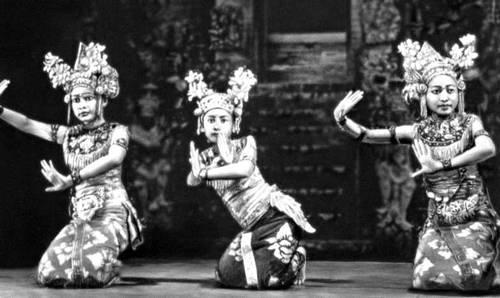 Танцовщицы с острова Бали.
