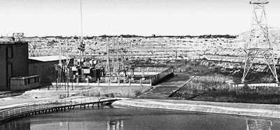 Насосная станция, подающая воду Каракумского канала на поля колхозов Ашхабадского района.