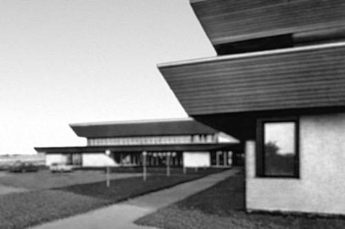 Архитектура Советской Эстонии. Т. Рейн. Административное здание колхоза «Линда». 1972.