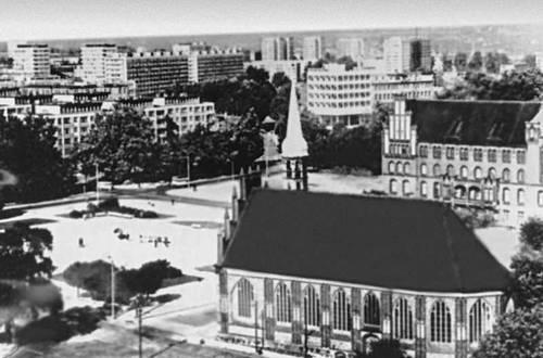 Щецин. Центр города.