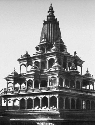 Храм Кришна Мандир в Патане. Между 15 и 17 вв.