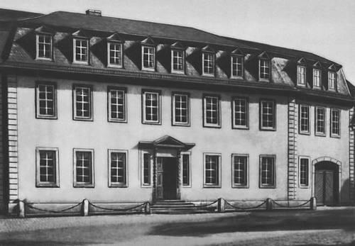Веймар. Национальный музей Гёте. 1709—94.