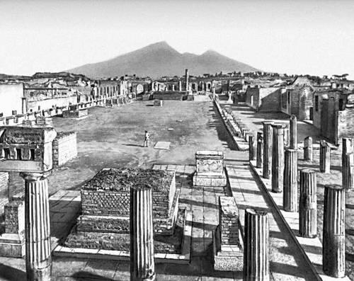 Помпеи. Форум. 2 в. до н. э.