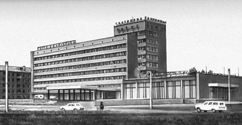 Новокузнецк. Гостиница «Новокузнецкая». 1970. Типовой проект.
