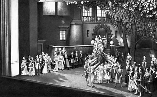 Сцена из оперы «Галька» С. Монюшко. Познанский театр оперы и балета.