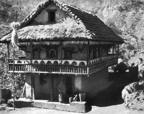 Жилище народности лимбу. Восточный Непал.