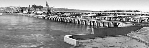 Саратовская область. Саратовская ГЭС (1970).