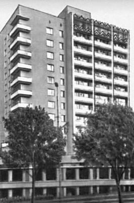 Ярославль. Жилой дом на Московском проспекте. 1976. Архитектор Б. А. Балеевский.