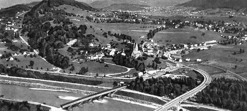 Лихтенштейн. Долина Рейна.