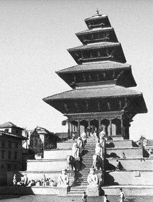 Храм Ньятапола в Бхактапуре. 1700—08.