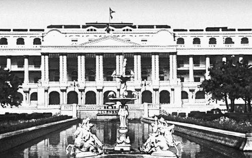Дворец Сингха Дарбар в Катманду. Начало 20 в.