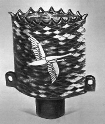Х. Р. Кума. Ваза. Керамика. 1970.