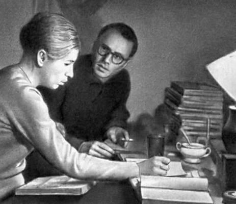 Кадр из фильма «Структура кристалла» (в советском прокате —«Размышление»). Реж. К. Занусси. 1969.