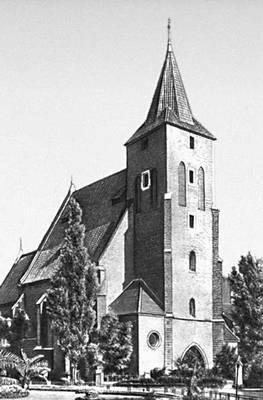 Архитектура 13—16 вв. Костёл Святого креста в Кракове. 14 — начало 16 вв.