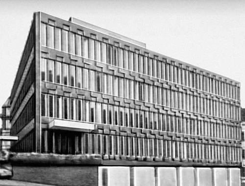 Осло. Посольство США. 1965. Архитектор Э. Сааринен.