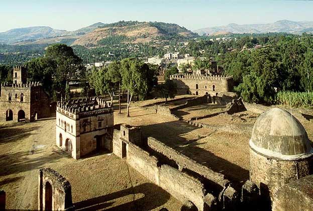 ГОНДЭР - первая столица Эфиопии