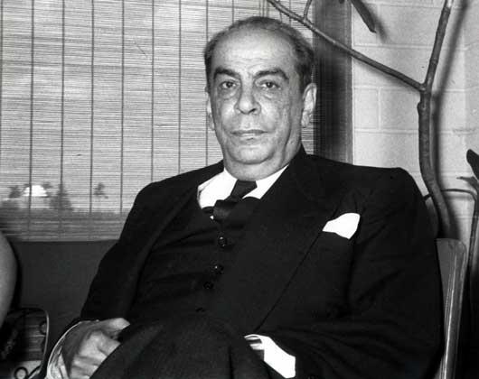 РОМУЛО ГАЛЬЕГОС в эмиграции (Мексика, 1952).