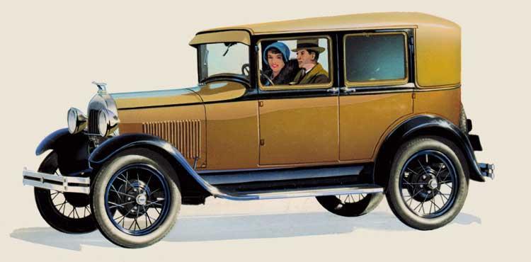 ФОРД, модель А (1928)