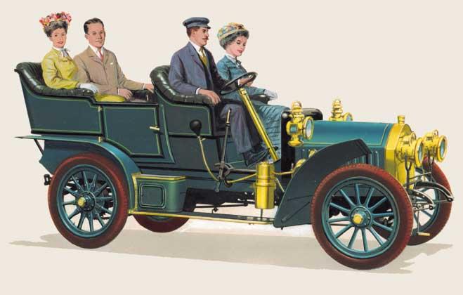 ЛОКОМОБИЛЬ (1907)