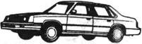 Легковой автомобиль Крайслер