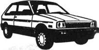 Легковой автомобиль Субару