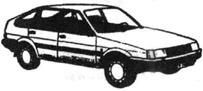 Легковой автомобиль Тоёта