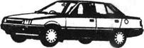 Легковой автомобиль Мицубиси