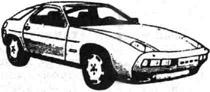 Спортивный автомобиль Порше