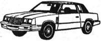 Легковой автомобиль Додж