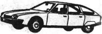 Легковой автомобиль Ситроен