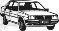 Легковой автомобиль Ланча