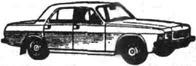 Легковой автомобиль ГАЗ-3102 Волга
