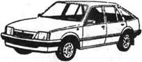 Легковой автомобиль Воксхолл