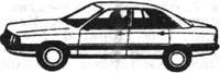 Легковой автомобиль Ауди
