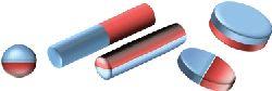 Типичные формы Янус-частиц