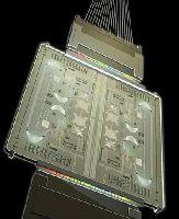 Пример фотонной интегральной схемы