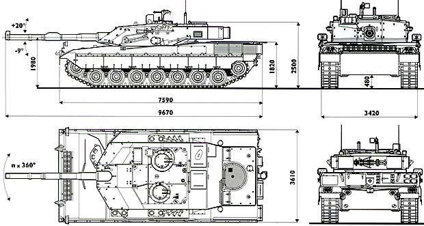 C1 Ариете - итальянский основной боевой <a href=