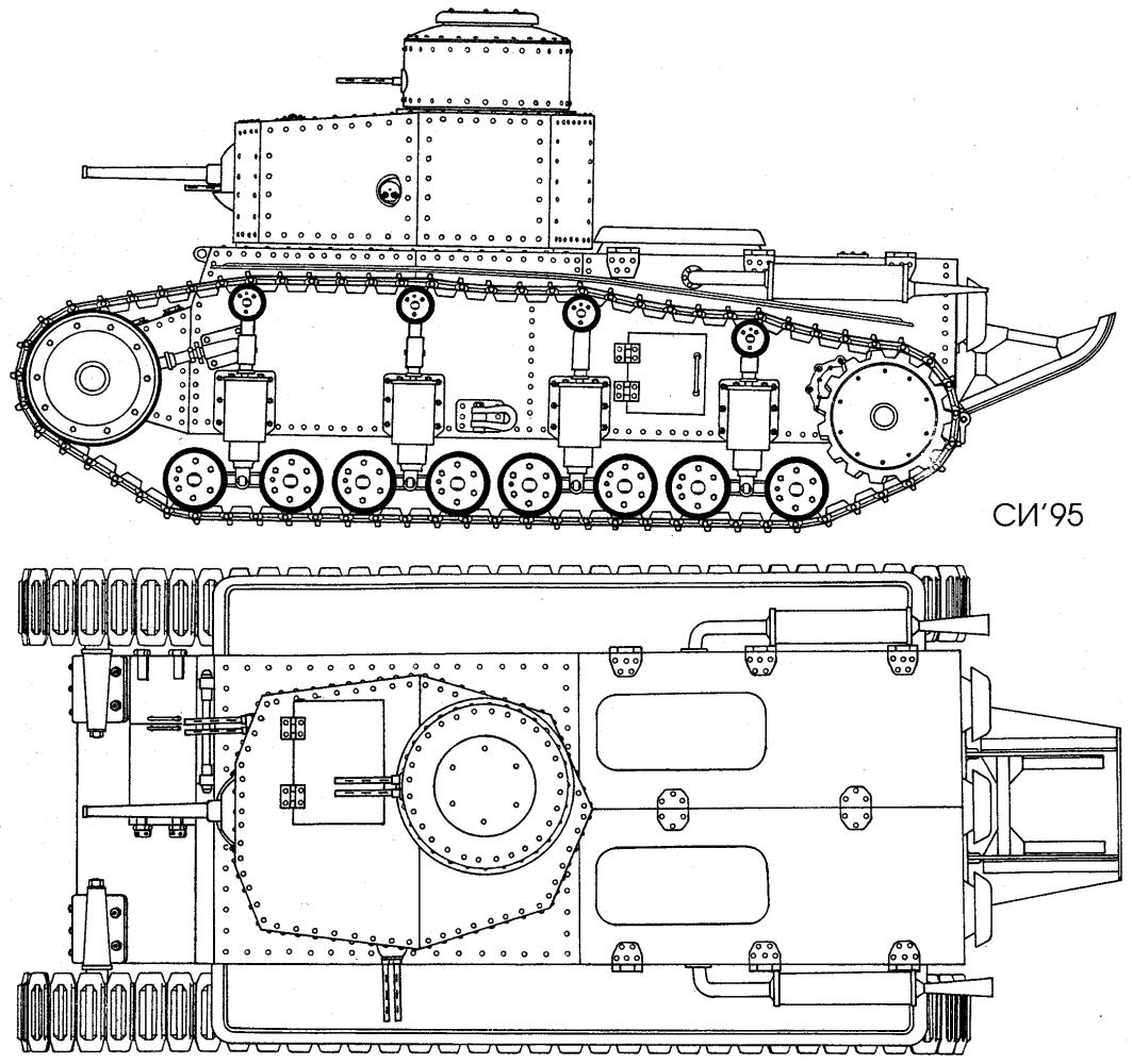 Проект танка Т-12