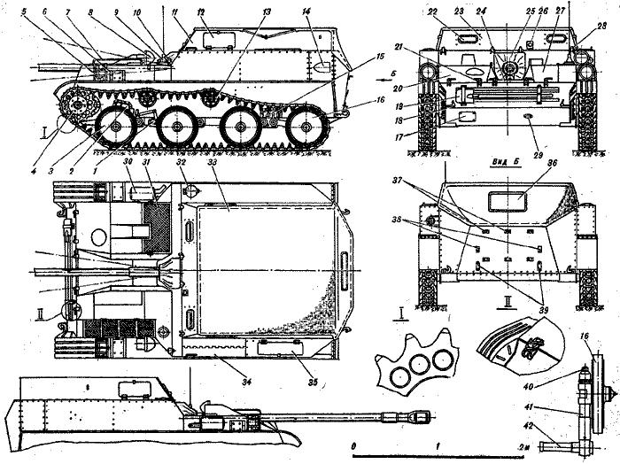Артиллерийская самоходная установка АСУ-57: