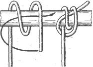 Рис. 55. Гафельный узел